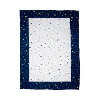 Bornino Home Krabbeldecke Mond und Sterne 100x140 cm