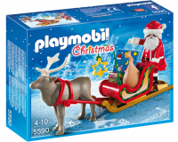 Playmobil Santas Sleigh With Reindeer 5590