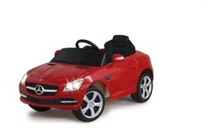 JAMARA Elektroauto Ride-on Mercedes Benz SLK rot
