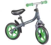 Hudora Hornet Laufrad Bikey 3.0, grün, 10 Zoll
