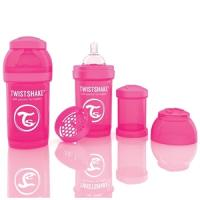 VITAL  Twistshake Anti- Kolik Flasche  -  180ml pink